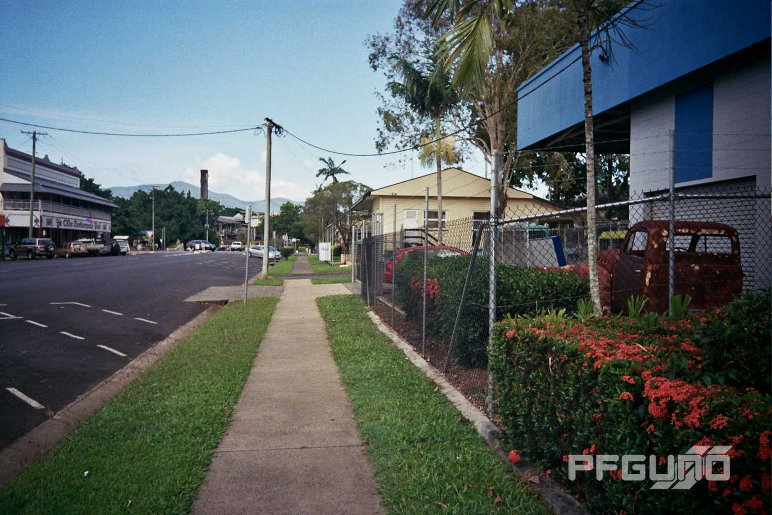 Footpath Down The Street
