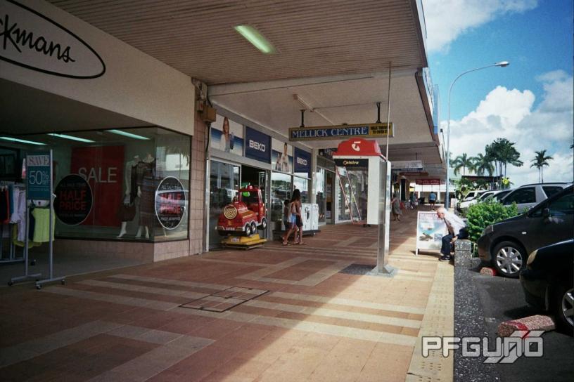 Shops Along The Street