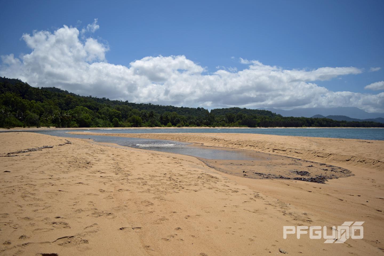 Water Between The Sand
