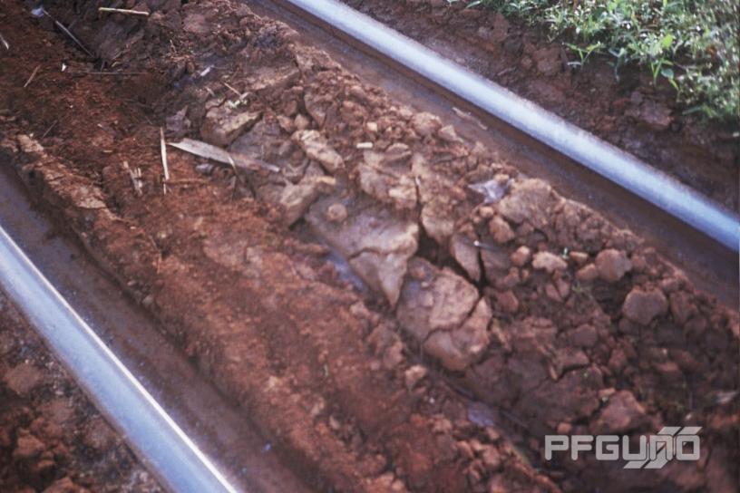 Dirt Between The Rail Tracks