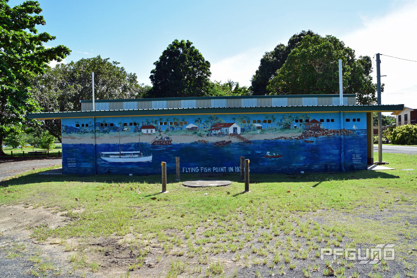 The Flying Fish Point Mural