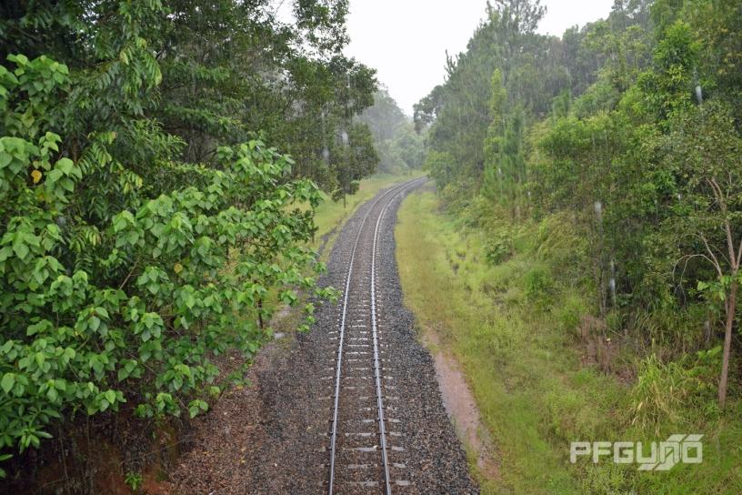Train Tracks Below