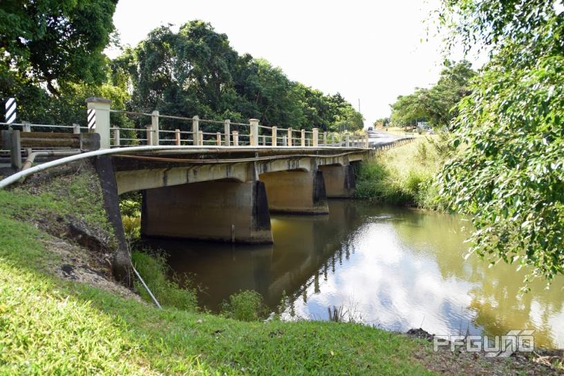 Bridge Crossing The Creek
