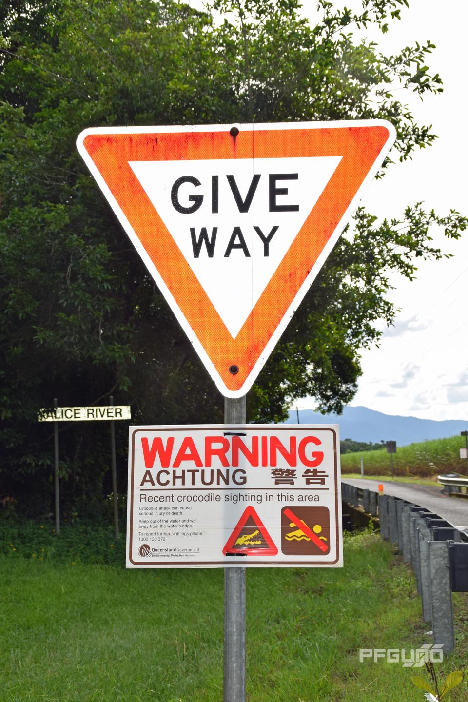 Give Way Warning
