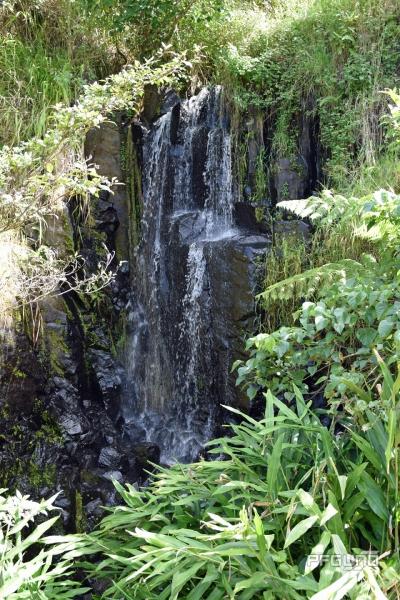 Water Hitting The Rocks