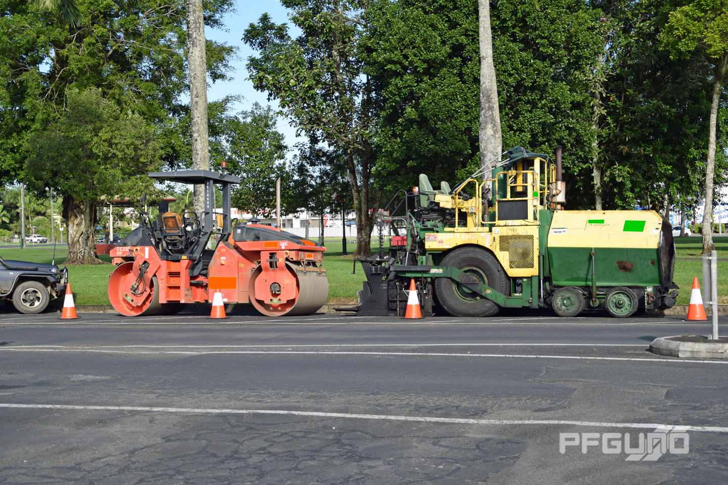 Roller and Paver